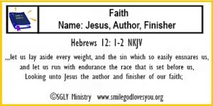 Hebrews 12:1-2 Memory Verse Card