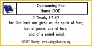 2 Timothy 1:7 Memory Verse Card