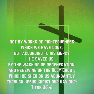Week 14–Our Salvation