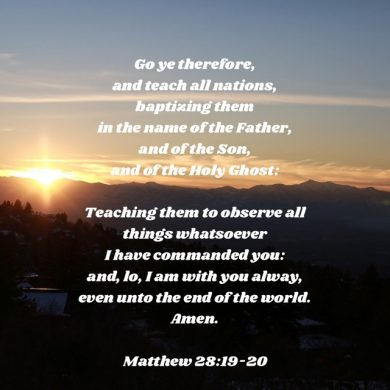 Week 23–Great Commission