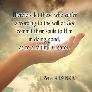 Faithful Creator-1 Peter 4:19