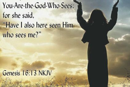 God Who Sees Me--Genesis 16:13