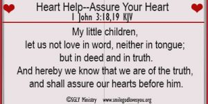Heart Help–Assure Your Heart